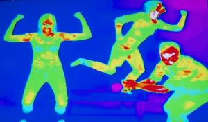 Thermal camera crop